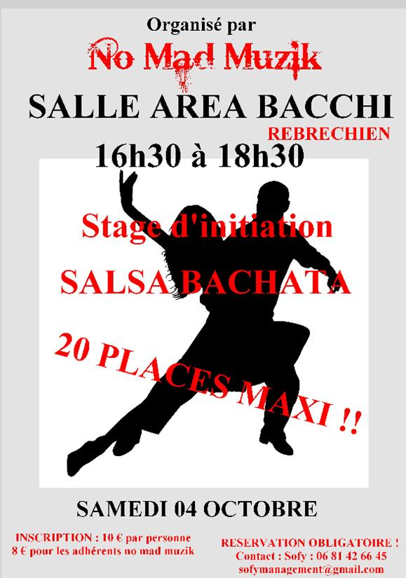 Stage d'initiation Salsa