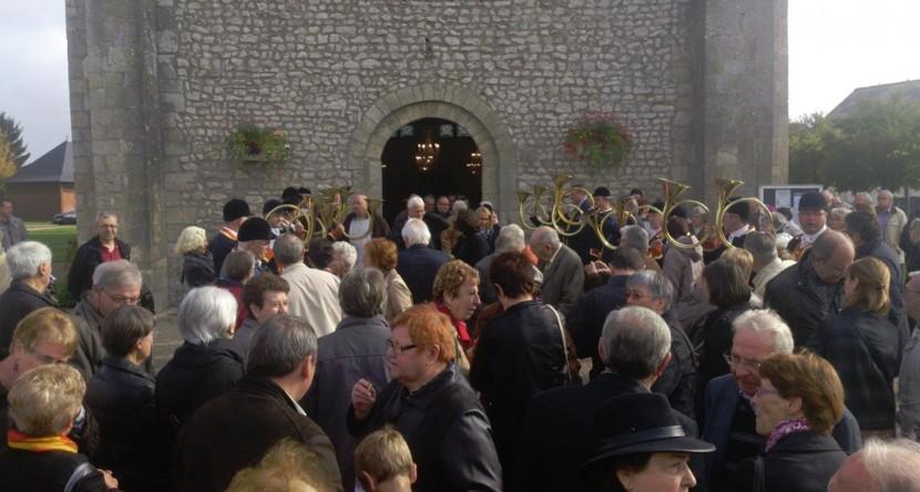 Messe et repas de la St Hubert