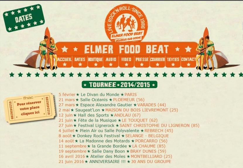 «Elmer Food Beat» invité d'honneur du prochain festival «Rock in Rebrech»