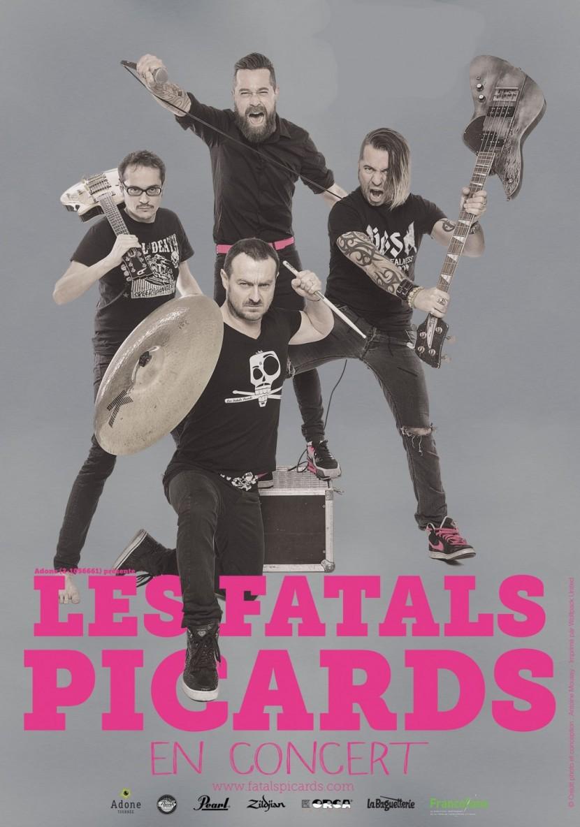 Les Fatals Picards au festival Rock in Rebrech' 7