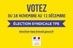 Information du Préfet sur les élections dans les TPE
