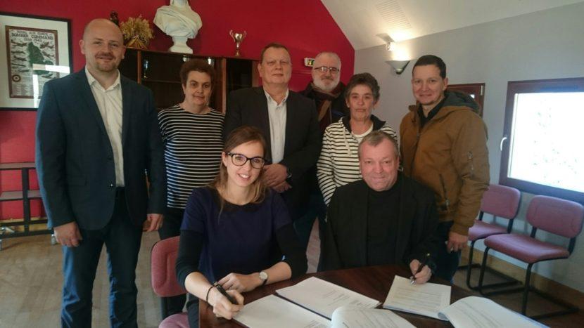 Signature du traité de ZAC