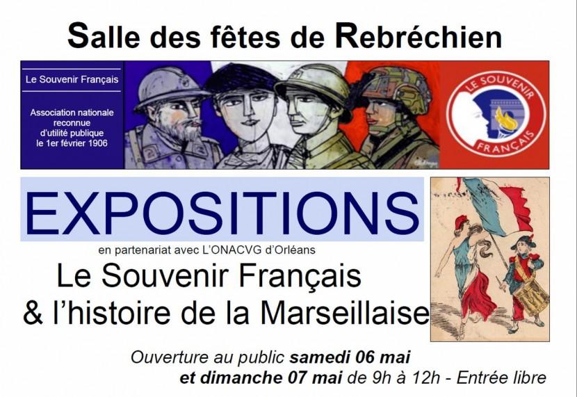 Expositions Souvenir Français & Marseillaise les 6 et 7 mai