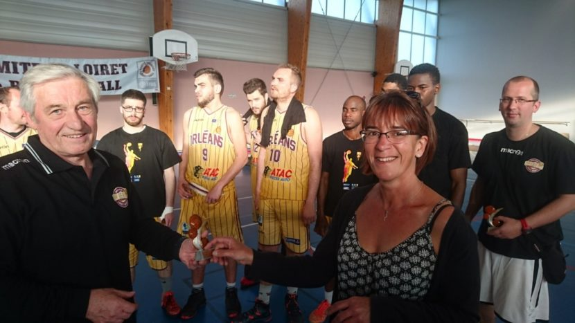 Finales départementales de Basket Ball à Rebréchien