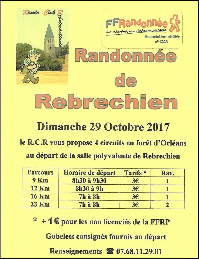 Marche départementale à Rebréchien