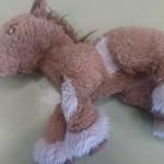 Un doudou poney retrouvé