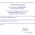 Invitation Marianne Dubois