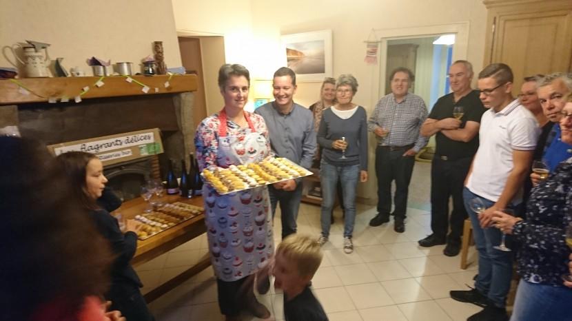 Un nouvel atelier de pâtisseries bio à Rebréchien