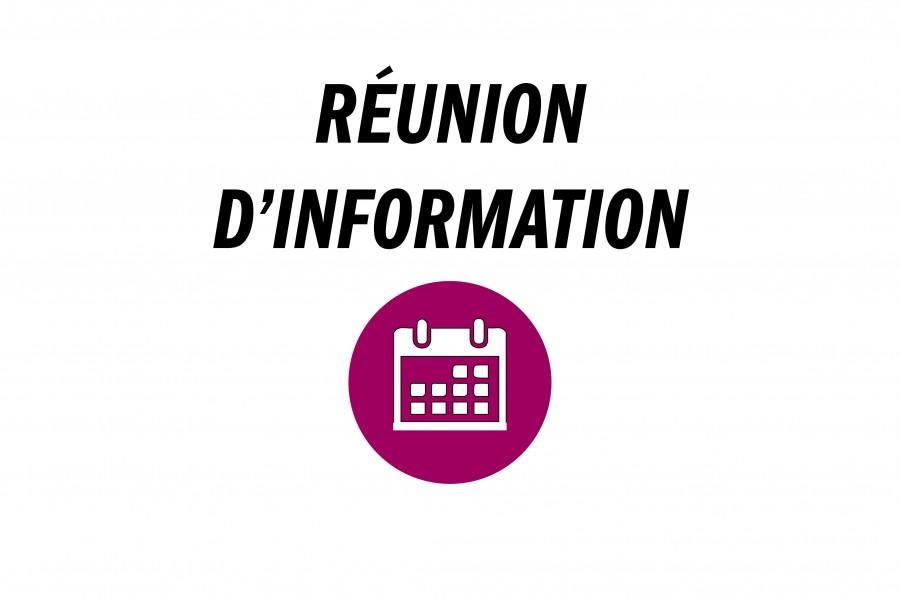 Réunion d'informations publique ZAC