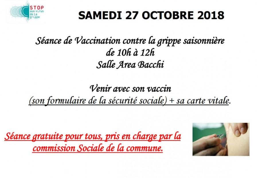Vaccination contre la grippe