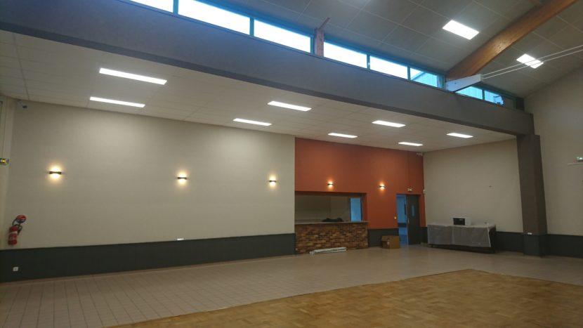 Salle polyvalente rénovée