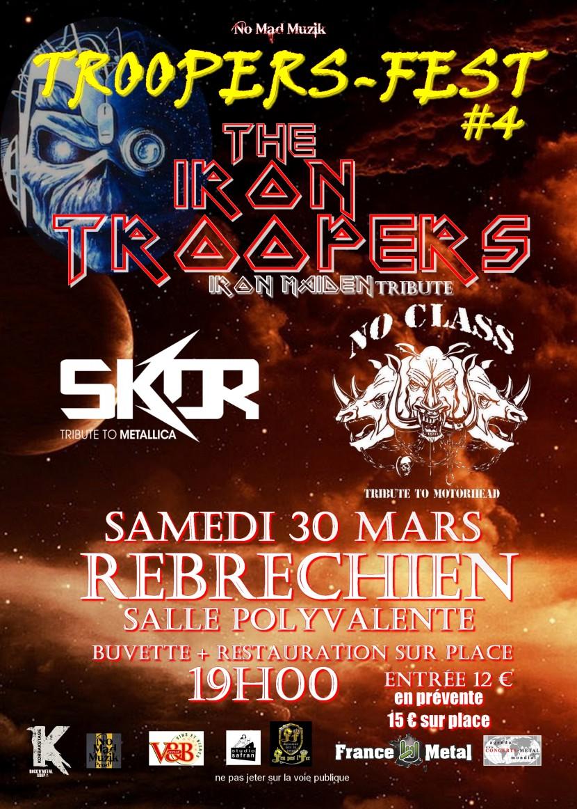 Troopers-Fest #4 du 30 mars à Rebréchien