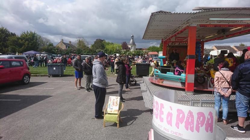 Vide-grenier et marché gastronome à Rebréchien