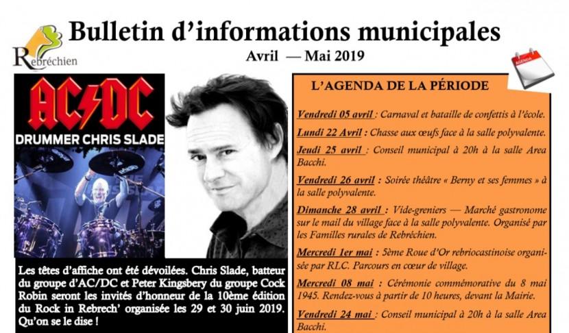 Nouveau Rebrech'info Mars / Avril