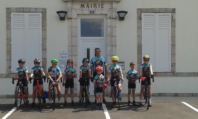 L'école de vélo encourage le tour du Loiret