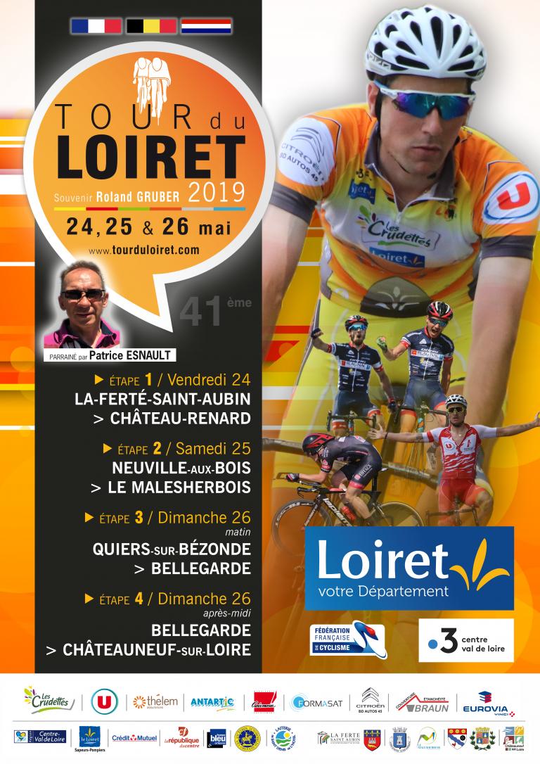 Tour du Loiret cycliste à Rebréchien