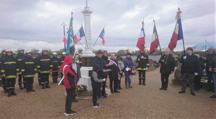 Commémoration du 11 novembre à Rebréchien
