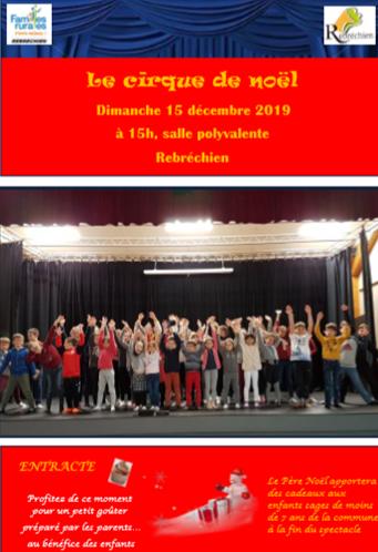 Spectacle «Le cirque de Noël»