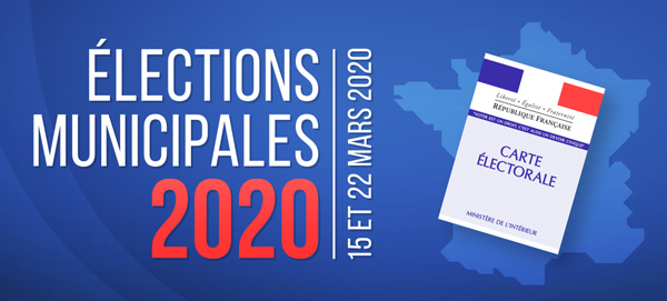Elections municipales et communautaires du 15 mars 2020