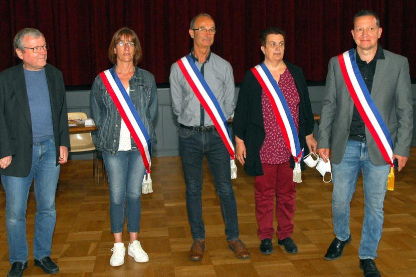 Le conseil municipal a élu son Maire et ses adjoints
