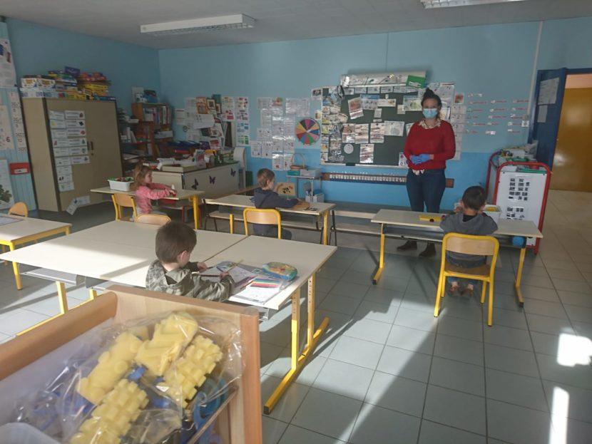 Rentrée des classes d'après confinement
