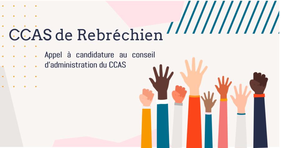 Appel à candidatures pour le CCAS de Rebréchien