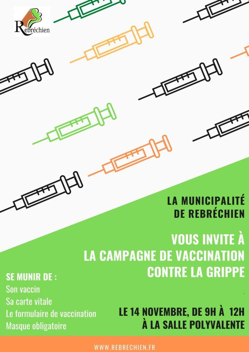 Campagne de vaccination contre la grippe