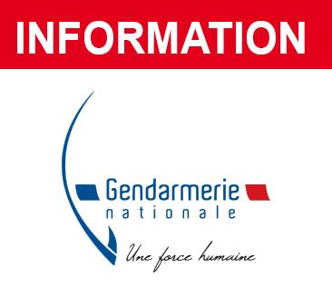Exercice de la gendarmerie jeudi 14 janvier