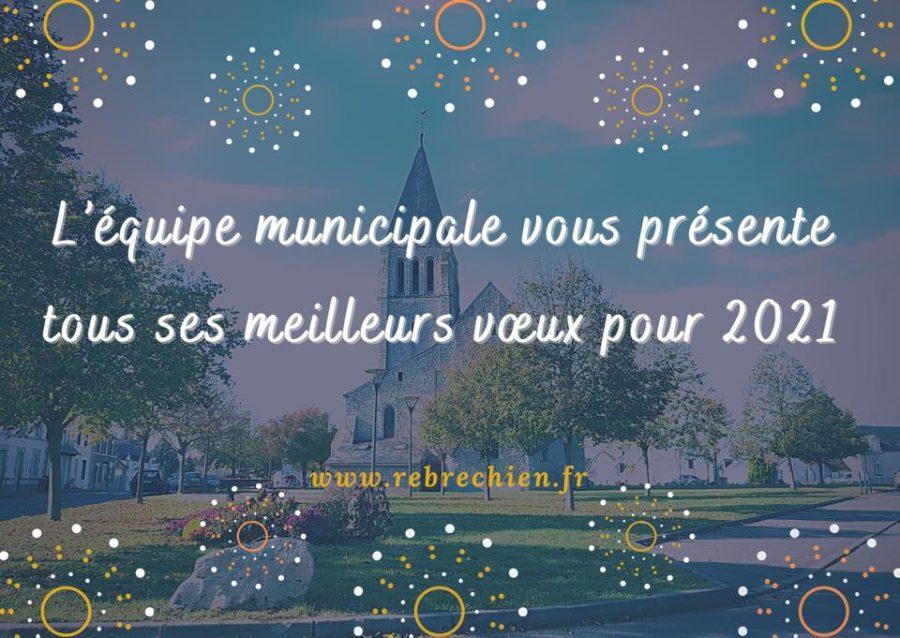 Bonne année 2021, «santé, bonheur et espérance !»