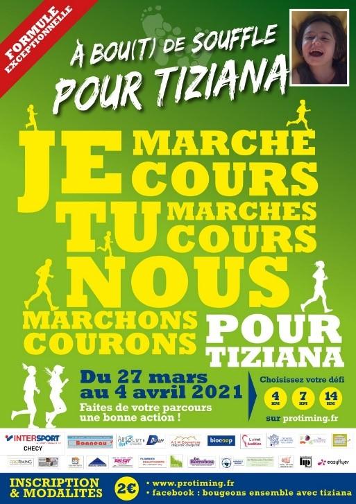 Course « A bou(t) de souffle pour Tiziana »