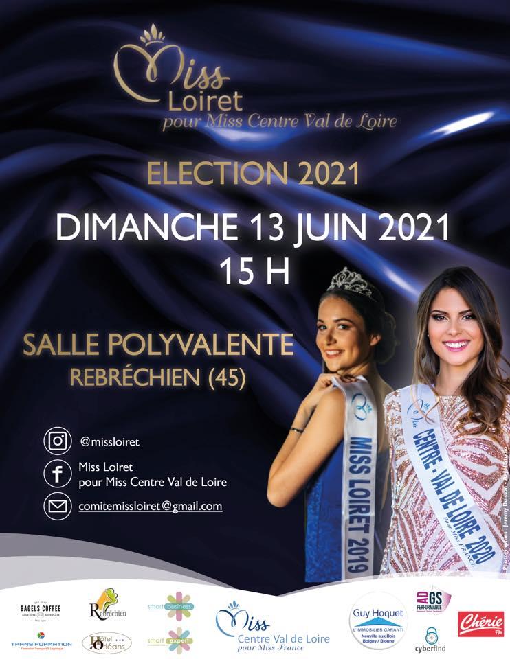 Election de Miss Loiret 2021
